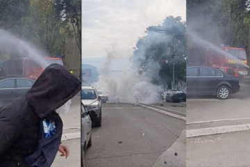 NEREDI NA KOSOVU! Policija suzavcima i šok bombama na srpske prosvjednike, upucan Srbin! 'Zauzdajte Kurtija, NATO, KFOR, reagirajte!', viču iz Srbije