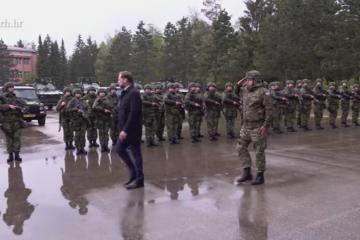 MORH: Satnija HRVCON-a odlazi u NATO operaciju KFOR u Republiku Kosovo