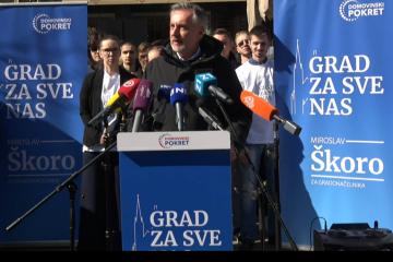 Miroslav Škoro predstavio svoju kandidaturu za gradonačelnika Zagreba