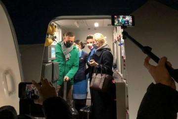 Navaljni priveden nakon što je sletio u Moskvu