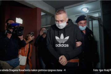 Nema na slobodu: Draganu Kovačeviću produljen pritvor za još 20 dana