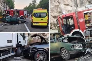 Strava na hrvatskim cestama: Jedan poginuo kod Dubrovnika i na A3 gdje se prevrnuo auto