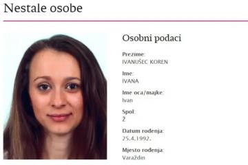 Nestala Ivana Ivanušec Koren (28) iz Varaždina: Muž ju doveo do posla i tu joj se gubi trag