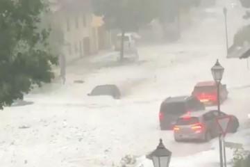 Njemačku, Francusku i Švicarsku poharalo olujno nevrijeme (VIDEO)