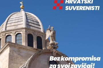 Neovisni za Hrvatsku- Šibenik i Hrvatski suverenisti zajedno za svoj zavičaj