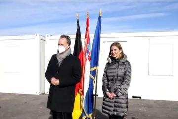 Njemačka donirala 40 stambenih kontejnera za potresom pogođena područja