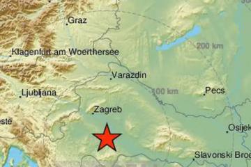 Potres jačine 5,5 zatresao je Sisak, Petrinju, Veliku Goricu...