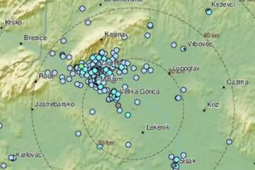 Osjetio se novi potres: Bio je jačine 4,1, epicentar kod Gline