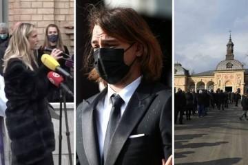 Cico otišao na vječni počinak uz 'Moj Zagreb, tak imam te rad'