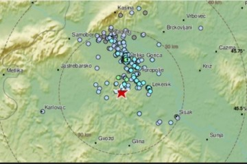 'ŠTO JE PREVIŠE, PREVIŠE JE. BOŽE, DAJ NAM MIRA' Potresi ponovno probudili stanovnike Banije: 'Jako je zatreslo'