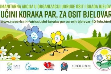 Učini koraka par,  za OSIT Bjelovar!