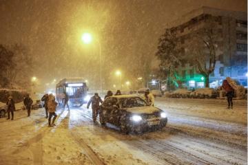 Snijeg i oluja paralizirali Španjolsku: 'Najveće snježne padaline od 1971.'