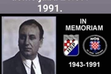 Ante Paradžik  10. veljače 1943. - 21. rujna 1991.