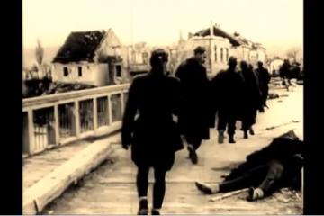 """Pogledajte rijedak video bitke za Odžak ! """"Partizani su nakon ulaska u Odžak poubijali sve koje su zatekli preko 2.700 ljudi pa i 80 ranjenika"""""""