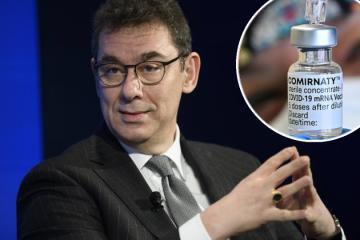 Izvršni direktor Pfizera: Ljudima će vjerojatno trebati i treća doza cjepiva protiv koronavirusa