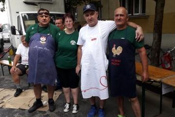 Članovi UHB i ŠRK na Đurđevačkoj Picokijadi