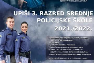 VIDEO: Povratak srednjoškolskog dvogodišnjeg obrazovanja za zanimanje policajac/policajka