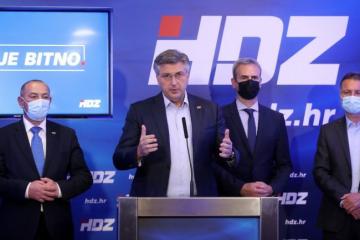Plenković tvrdi: 'Rezultati HDZ-a su dobri, pobjednički'