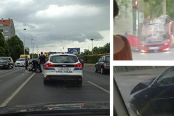 Dvoje ozlijeđenih u dva sudara u Zagrebu u samo sat vremena