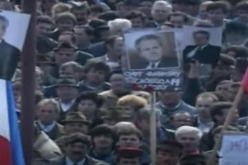 'UBIT ĆEMO TUĐMANA': Skup na Petrovoj gori posjetilo je 100 tisuća pobunjenih Srba