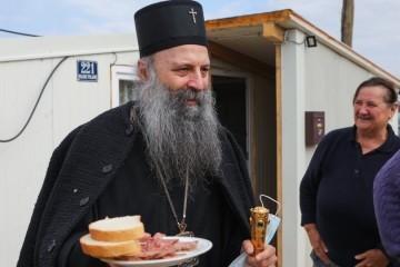 Patrijarh Porfirije na Baniji: Radit ću na otupljivanju oštrica između naroda, računajte na nas