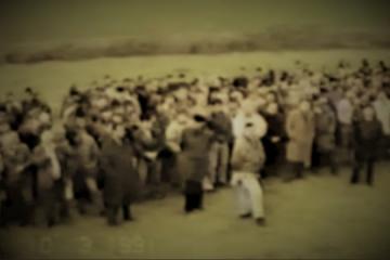 VIDEO: Postrojavanje prvog nenaoruženog odreda u Bogdanovcima