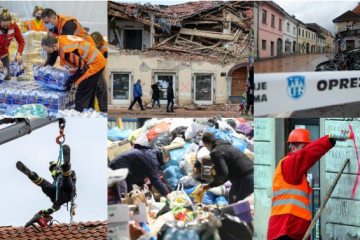 RAZORAN POTRES JAČINE 6,4 POGODIO ALBANIJU: Srušena zgrada u Draču