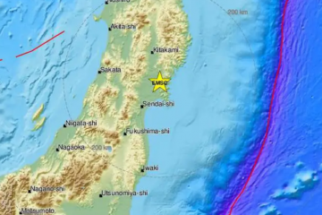 Potres od 7 Richtera u Japanu!