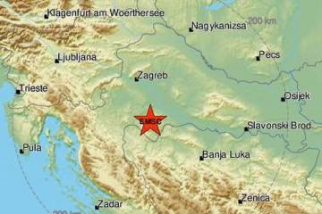 Novi potres od 4,6 Richtera kod Siska: 'Čulo se kao eksplozija'