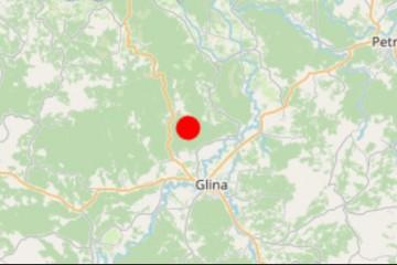 MAGNITUDA 3,7 OPET Novi potres zaljuljao Banovinu