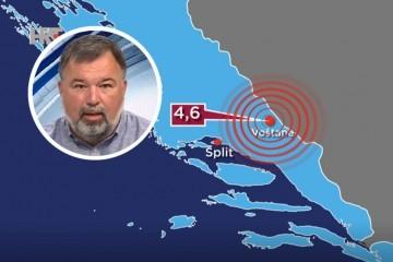 Seizmolog Kuk o potresu u Dalmaciji: Naknadni potresi trajat će neko vrijeme