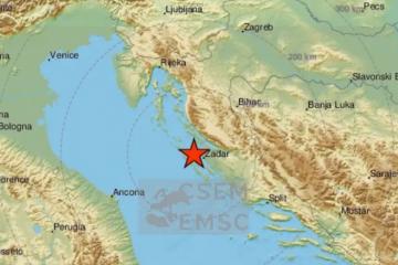 Potres 3.0 po Richteru u Zadru: 'Jako se osjetio u zgradama'