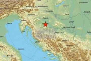 ZVUK KOJI LEDI KRV U ŽILAMA: Ovo je snimka potresa koji je noćas pogodio Petrinju