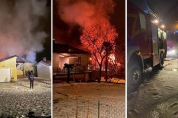 DRAMA U ISTRI: Uslijed kišnog nevremena grom zapalio kuću, urušilo se krovište! Grad u Dalmaciji pod vodom