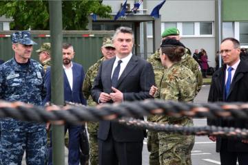 Milanović: Naše Oružane snage nisu velike ali su kvalitetne i dobro obučene