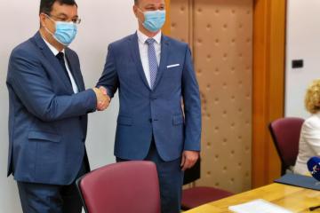PROMJENA I U BJELOVARU: Marko Marušić preuzeo dužnost župana, Bajs aktivira saborski mandat