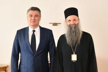 Srpska pravoslavna crkva na čelo dobila jednog umivenog četnika