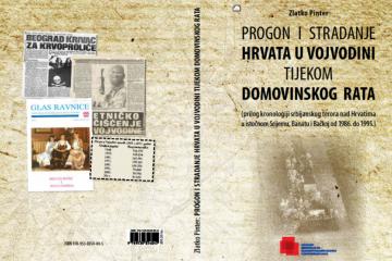 """Prikaz knjige """"Progon i stradanje Hrvata u Vojvodini tijekom Domovinskog rata"""""""