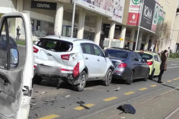 Sudarila se četiri auta u Dubravi. Stigla i Hitna pomoć