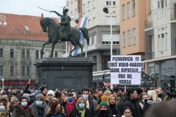 Prosvjednici traže potpore, ukidanje nameta i odlazak ministra Ćorića