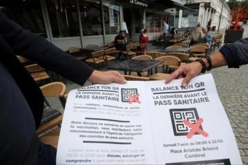 Veliki prosvjedi protiv koronamjera očekuju se u Francuskoj