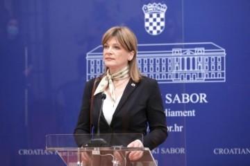 KAROLINA VIDOVIĆ KRIŠTO TRAŽI SMJENU VRHA VOJNE TAJNE SLUŽBE: 'Jasno je utvrđeno da je ta osoba prekršila zakon, a to su znali i predsjednik i premijer