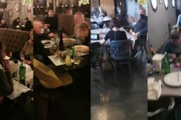 Policija upala u ilegalni restoran, zatekli 34 osobe, vlasnik priveden