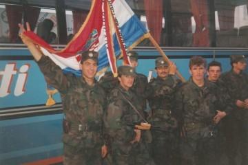 Ratna zastava 4. gardijske brigade čuva se kao relikvija