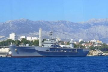 Zapovjedni brod Šeste flote u Splitu: SAD Hrvatskoj u deset godina dao vojnu pomoć od 4,5 milijardi kuna