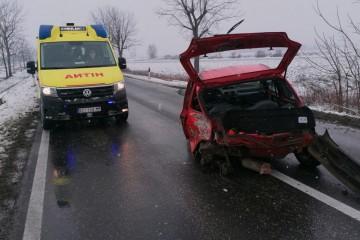 Nova nesreća u Podravini: Sudarila se dva auta, ima i ozlijeđenih