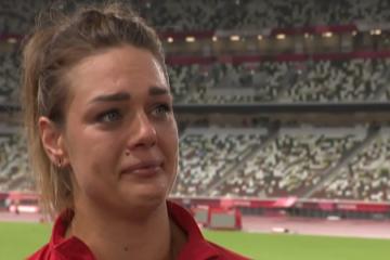 Sandra Perković grcala u suzama nakon što je doživjela šok i ostala bez medalje u Tokiju
