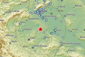 Središnju Hrvatsku pogodio još jedan potres