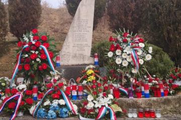 Sinj – Obilježena 29. godišnjica pogibije pet zrakoplovaca