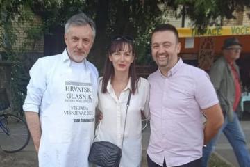 VIDEO Škoro i Vučemilović u ugodnom društvu; objavili fotografije druženja s Fišijade u Višnjevcu